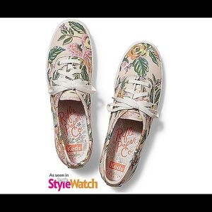Keds x Rifle Paper Co Jardin Paris champion